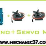 Arduino से तीन Servo Motor Control करें