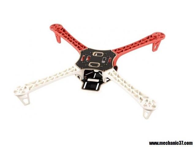 Drone की frame 450mm की हम use करेंगें