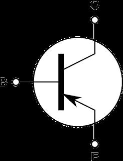 transistor का symbol