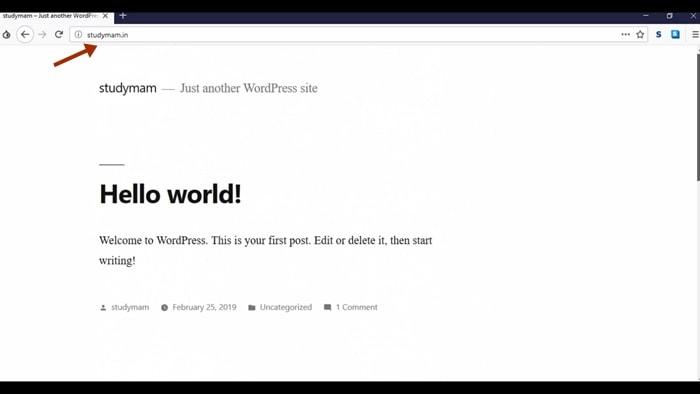 Website बन चुकी है
