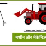 मशीन और मैकेनिज्म या यन्त्र विन्यास में अंतर : TOM Notes In Hindi